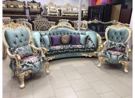 Мягкая мебель Аризона (голубая)