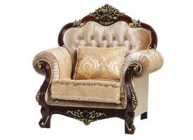 Кресло Илона орех золото