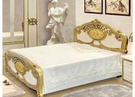 Кровать Ольга беж золото - КУПИТЕ СО СКИДКОЙ!