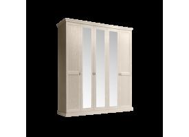 Шкаф 5-дверный Венеция беж (с зеркалами)
