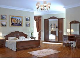 Спальня Да Винчи орех