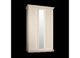 Шкаф 3-дверный Тиффани серебро с зеркалами АКЦИЯ! СКИДКА - 40 %АКЦИЯ! СКИДКА - 40 %