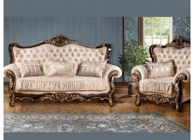 Мягкая мебель Валенсия 1 венге/ваниль
