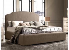 Кровать Римини (ткань коричневая 12) СКИДКА -50%!