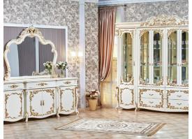 """Гостиная Венеция крем """"Арида мебель"""""""