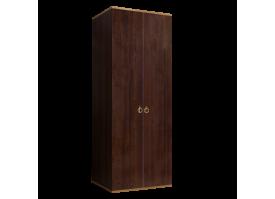 Шкаф 2-дверный Римини (орех/золото) СКИДКА -50%!