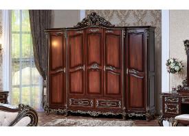 """Шкаф 5-дверный Федерика орех """"Арида мебель"""""""