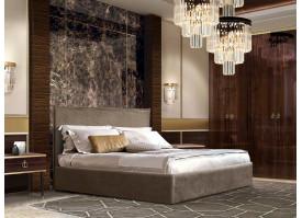 Спальня Диора+Римини (орех орегон/золото) СКИДКА -50%!