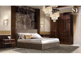 Спальня Диора+Римини (слоновая кость/золото,серебро) СКИДКА -50%!