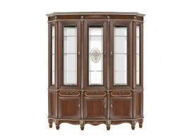 "Шкаф-витрина 3-х дверная 29 ""Юта мебель"""