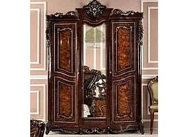 """Шкаф 3-дверный Джоконда корень дуба """"Эра мебель"""""""