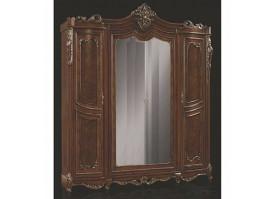 """Шкаф 4-дверный Джоконда Люкс/ орех """"Эра мебель"""""""
