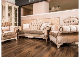 Мягкая мебель Патрисия серый глянец Эра мебель