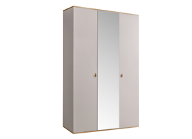 Шкаф 3-дв.Римини (слоновая кость/золото) СКИДКА -50%!