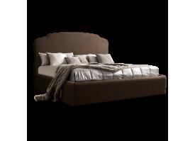 Кровать Римини (ткань шоколад 28) СКИДКА -50%!