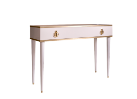 Туалетный стол Римини (слоновая кость/золото) СКИДКА -50%!