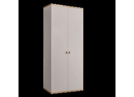Шкаф 2-дверный Римини (слоновая кость/золото) СКИДКА -50%!