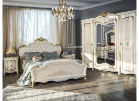 """Спальня Энрике крем/глянец """"Эра мебель"""""""