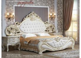 """Кровать Федерика крем """"Арида мебель"""" - АКЦИЯ!"""