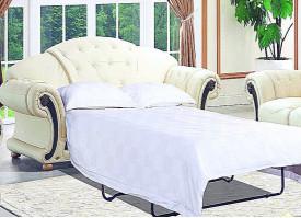 Диван-кровать 3-х местный Версаче беж