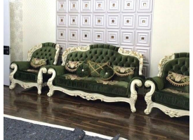 Кресло Романо (зеленый цвет)