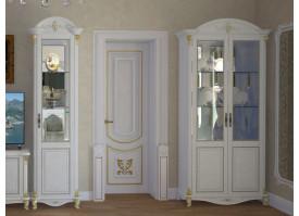 Витрина 2-дверная Да Винчи беж