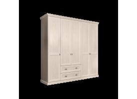 Шкаф 5-дверный Венеция беж (без зеркал,с ящиками)