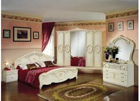 Спальня Роза беж (Диа мебель)- КУПИТЕ СО СКИДКОЙ!