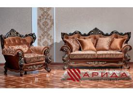 Мягкая мебель Оскар 2 орех (азалия коричневый) АКЦИЯ!