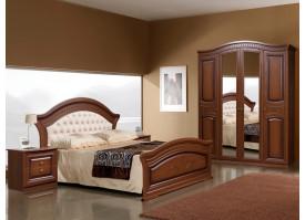 Спальня Любава 4 орех