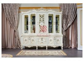 """Шкаф-витрина 5-дверная Шанель """"Арида мебель"""