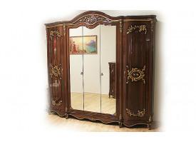 Шкаф 5-дверный Даниэлла орех
