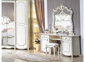 """Туалетный столик с зеркалом Лорена """"Арида мебель"""""""