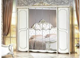 """Шкаф 6-дверный Лорена крем""""Арида мебель"""""""