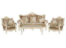 Мягкая мебель Милано ткань кофейная