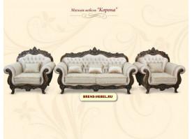 Мягкая мебель Корона (светлая)