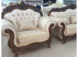 Кресло Корона (светлое)