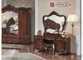 Туалетный столик с зеркалом Элиза орех/ Арида
