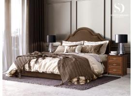 Кровать Квин Queen (ткань коричневая 03) СКИДКА -50%!