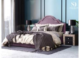 Кровать Квин Queen (ткань лаванда 02) СКИДКА -50%!