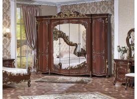 """Шкаф 6-дверный Венеция орех """"Арида мебель"""""""