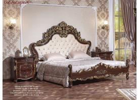 """Кровать Венеция орех """"Арида мебель"""""""