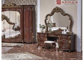 """Туалетный столик Венеция орех""""Арида мебель"""""""