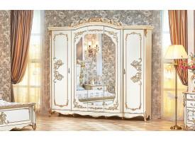 """Шкаф 5-дверный Фиона крем """"Арида мебель"""""""