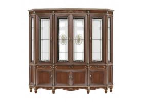 "Шкаф-витрина 4-х дверная Палермо 22 ""Юта мебель"""