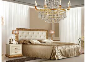 Кровать Тиффани золото с мягким изголовьем АКЦИЯ! СКИДКА - 40 %