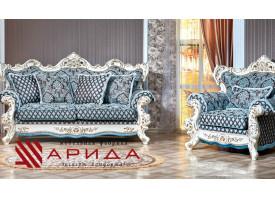 Мягкая мебель Оскар 1 крем (марсель бирюза) АКЦИЯ!