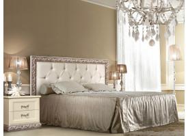Кровать Тиффани серебро с мягким изголовьем АКЦИЯ! СКИДКА - 40 %