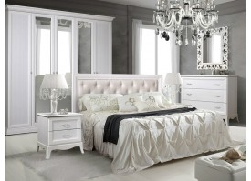 Спальня Амели (с мягким изголовьем/ велюр)