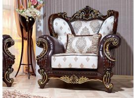 Кресло Империал орех (валь тек беж)